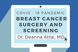 Thumbnail Breast Cancer Surgery and Scre