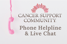 Cancer Support Community Helpline Thumbn