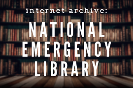 internet archive National Emergency Libr