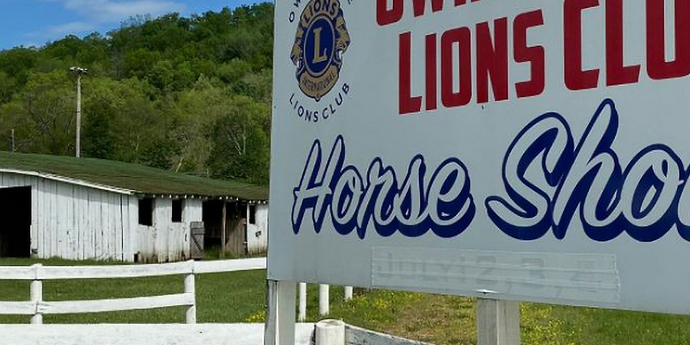 Owingsville Lions Club Horse show