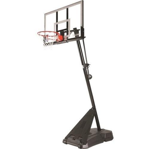 """Стойка баскетбольная SPALDING Hybrid Portable, стекло 54"""""""