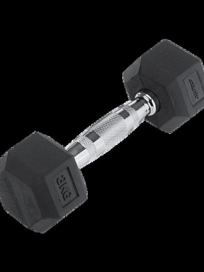 Гантель обрезиненная DB-301  3 кг