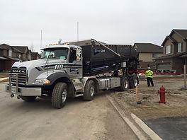 Silverline large Mack truck