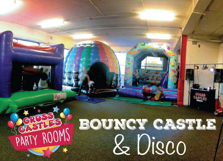 Bouncy Castles & Disco Party