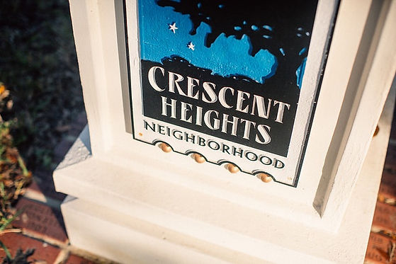 Crescent Heights Sign Saint Petersburg F