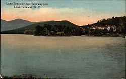 Vintage Lake Toxaway postcard
