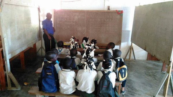 'Classroom' in Village of Titans