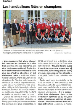 Ouest France - Sautron 24.05.2018