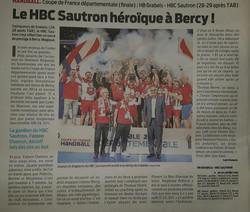 SAUTRON - Champion de France