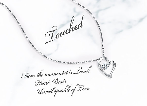 Touched Heart Necklace