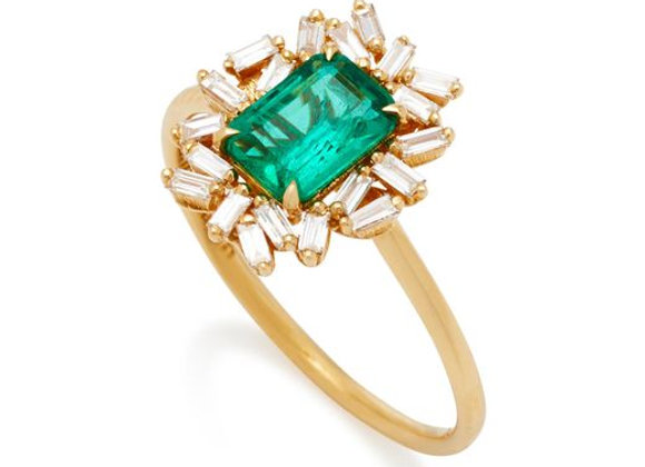 Esmeraude Emerald Ring