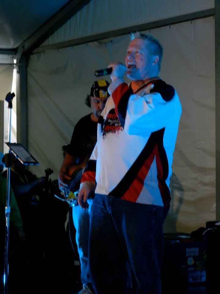 Wayne singing RTCC 2012