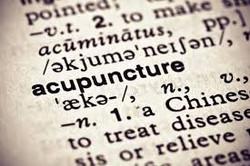 Acupuncture definition