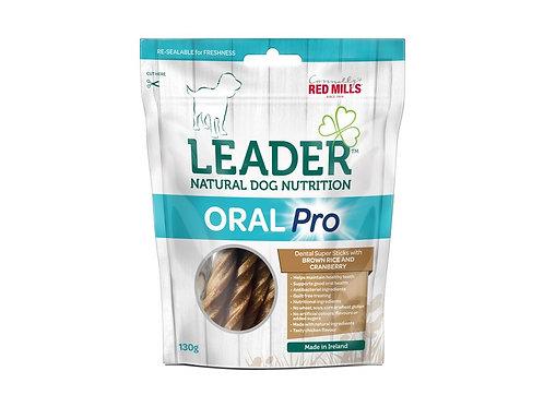 Friandises Leader Oral Pro Riz Brun et Canneberge