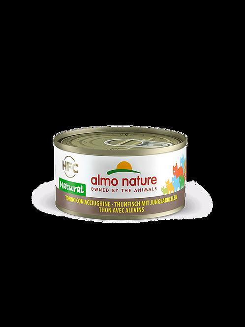 Almo Nature Thon avec Alevins 70 g
