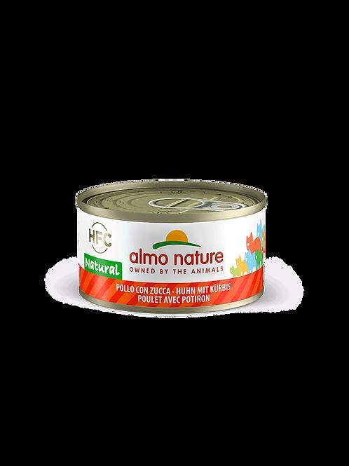 Almo Nature Poulet et Potiron 70 g