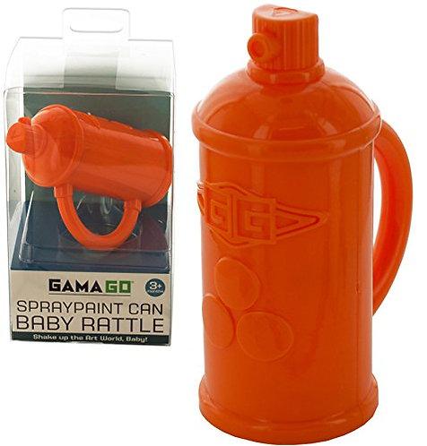 Spraypaint Baby Rattle