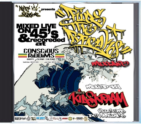 Ride the Breaks Mix Tape-- DJ Kid Skraam