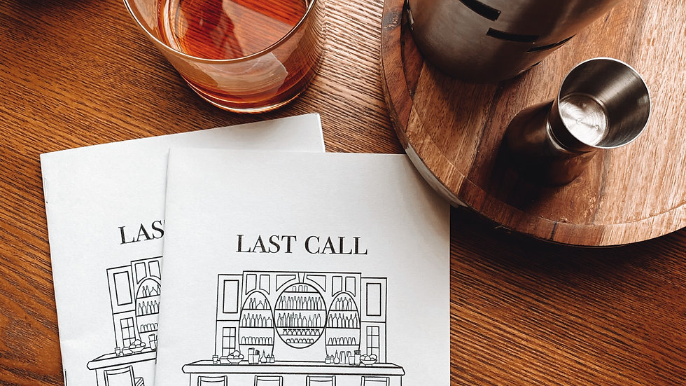 Last Call (Chapbook Only)