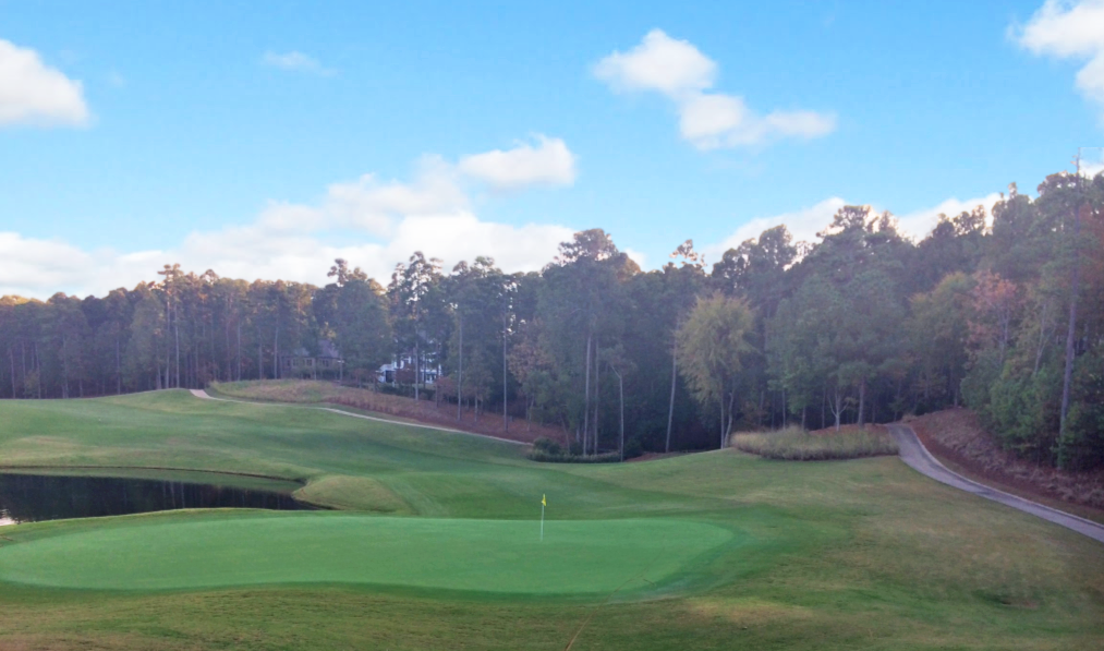 View from the green of Hole #9