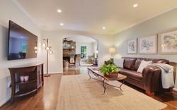 Huge, Open Living Room...