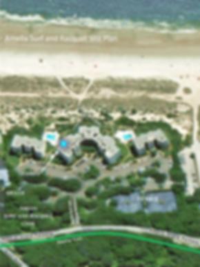 Amelia Island Vacation Rental Site Plan