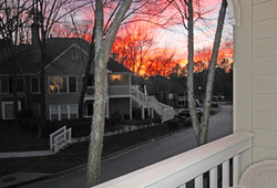 Offers spectacular Sunsets...