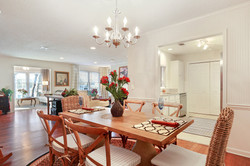 Open Concept Dining...