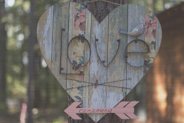 """""""Love in the Woods""""Canvas  Wall Art"""