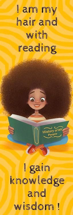 I AM MY HAIR! - bookmark