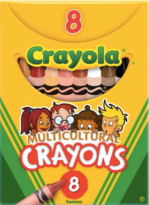 Multicultural Color Crayons