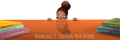 Knowledge is Learning Your History - girl image