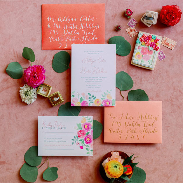 The Bella Wedding Invitation Suite