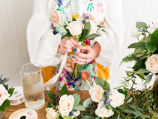 Talking Wedding Flowers with Cotton & Magnolia!