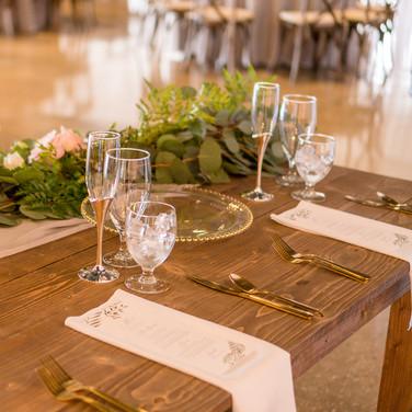 Real Florida Wedding: Place Settings