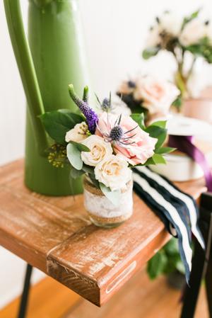wedding flowers, florals, centerpieces, peonies, roses, Cotton & Magnolia, St. Pete Florist