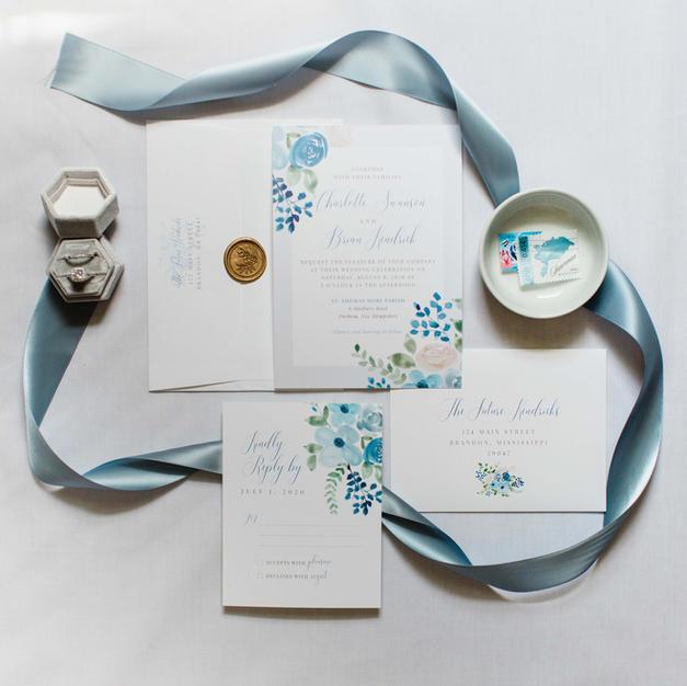 The Nancy Wedding Invitation Suite