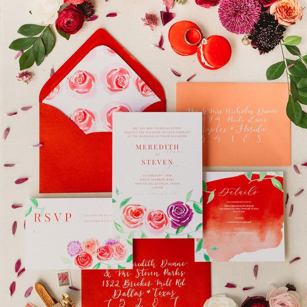 The Meredith Wedding Invitation Suite