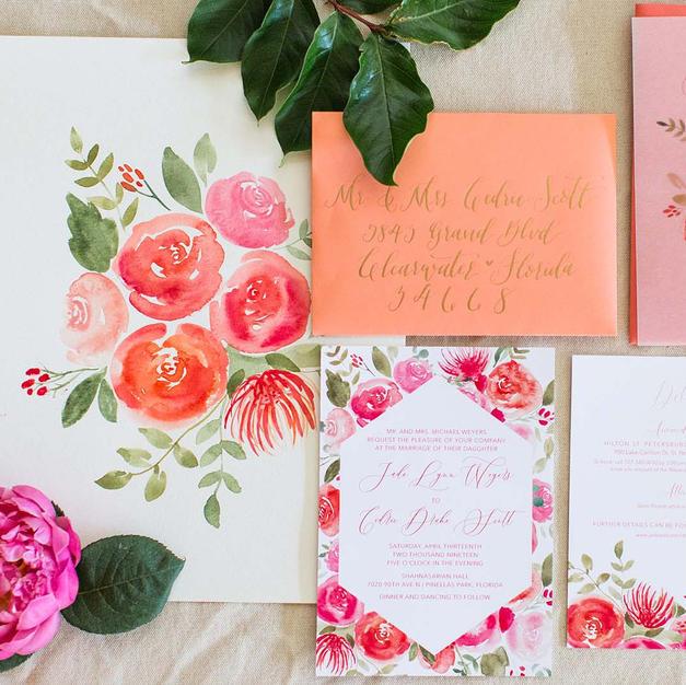 The Kelly Wedding Invitation Suite