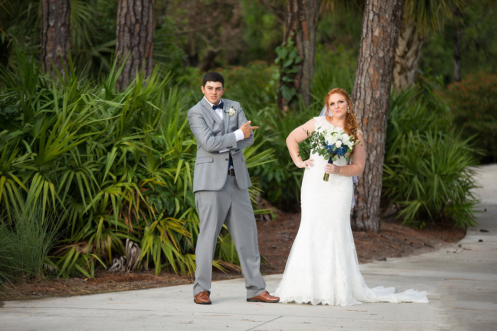 wedding, marriage, you may kiss the bride, Naples wedding, Wyndemere country club