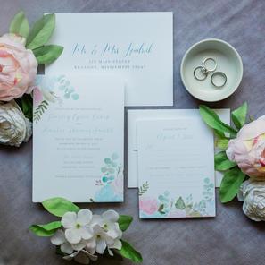 The Paisley Wedding Invitation Suite