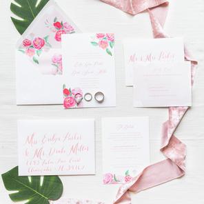 The Laura Wedding Invitation Suite
