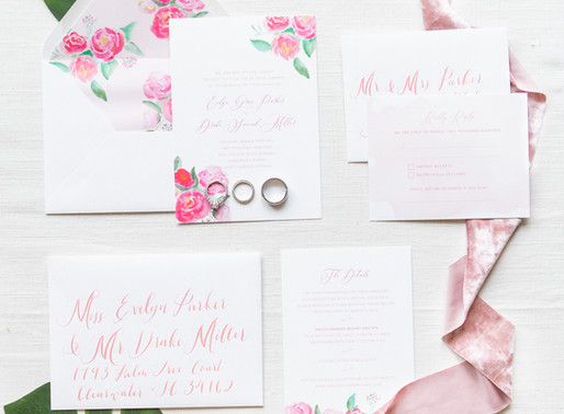 Custom Wedding Invitations | The Process
