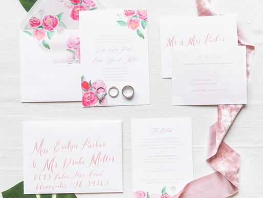 Custom Wedding Invitations   The Process