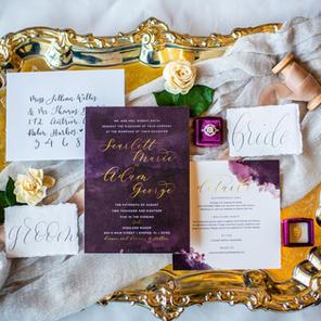 The Jennifer Wedding Invitation Suite