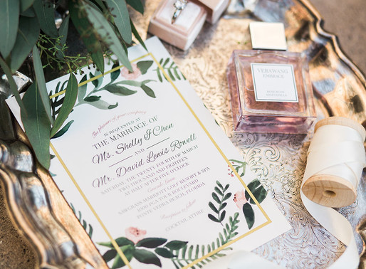 The Leigha: A Semi-Custom Invitation Suite