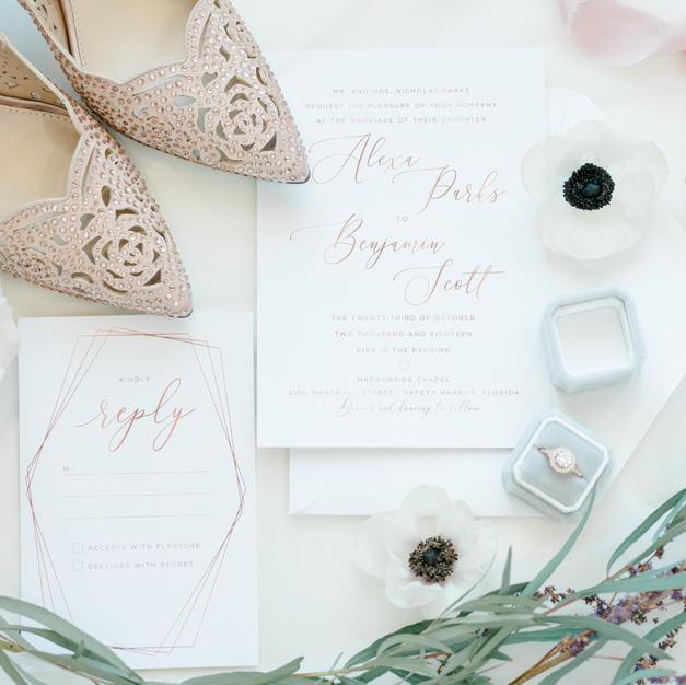 The Brooke Wedding Invitation Suite