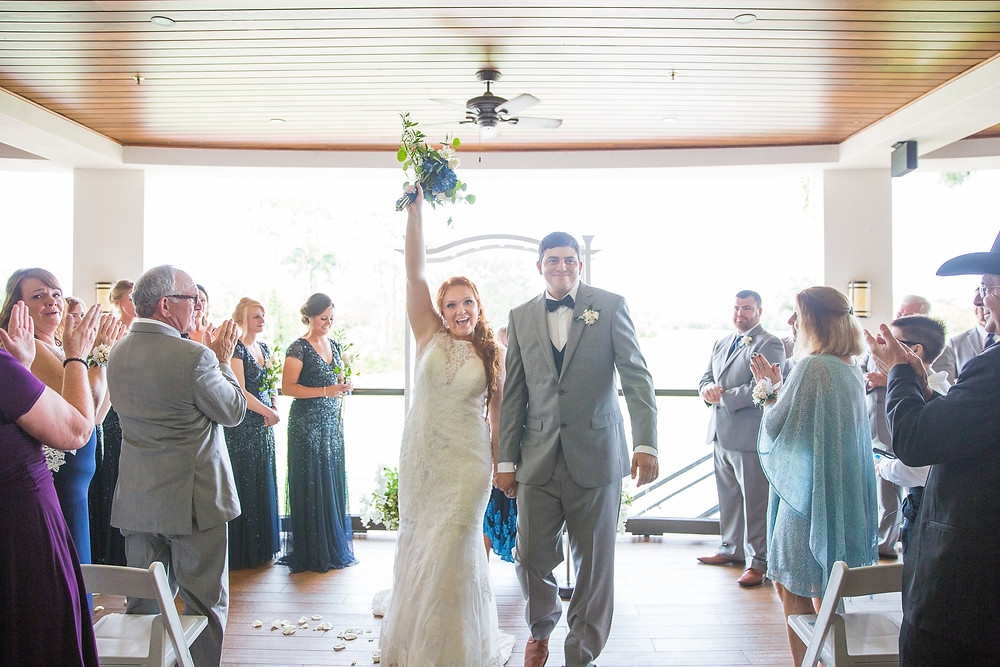wedding, marriage, couple, bride and groom, bouquet, flowers, Naples wedding, Wyndemere country club