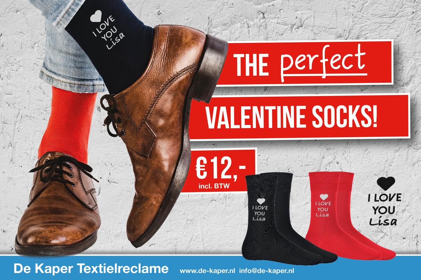 Valentijns sokken
