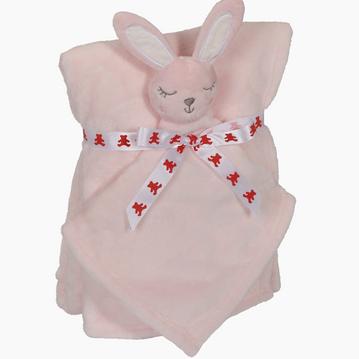 Blanket set Konijn Roze